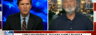 Video of the Day: Tucker Carlson goes head-to-head with 'Meathead' Rob Reiner