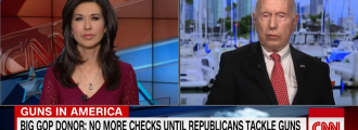 Florida GOP donor threatens money drought over gun issue – CBS