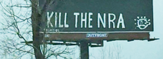 "The Tolerant Left: ""Kill the NRA"" Billboards in Kentucky"