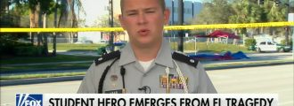 "Florida shooting hero Colton Haab: CNN gave me ""scripted question"" after denying question about armed guards"