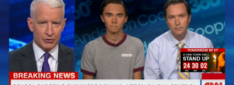 David Hogg to CNN: 'I'm not a crisis actor' -- Video
