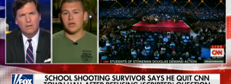 "Florida shooting hero Colton Haab names CNN producer who said he needed to ""stick to the script"""