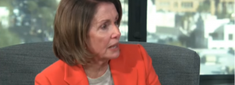Video of the Day: Watch Nancy Pelosi suggest mowing the grass as a solution for border security