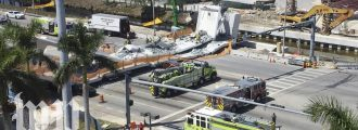 Liberals pin Florida bridge collapse on Trump, call for impeachment