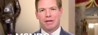 Dem Rep. Swalwell threatens Trump over McCabe firing, channels Michael Moore, Rosie O'Donnell