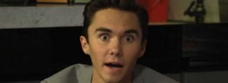 David Hogg whines about white privilege, claims NRA making U.S. a dictatorship -- Videos