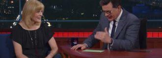 Female comic Maria Bamford files restraining order against Trump over threats of nuclear war