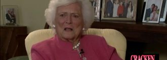 Liberal hatemongers celebrate death of former First Lady Barbara Bush