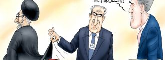 Cartoon of the Day: Death to Iran Deal