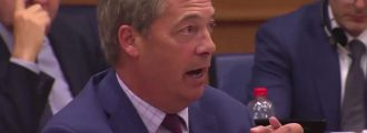 Video of the Day: Nigel Farage hammers Facebook's Mark Zuckerberg for censoring conservatives