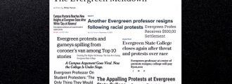 Far left Evergreen State College facing 10 percent budget cut - Report