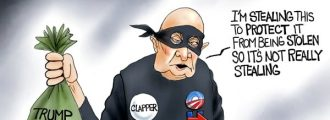 Cartoon of the Day: It Takes a Thief