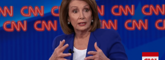 Pelosi confronted over 'crumbs' comment on CNN, and that's not all