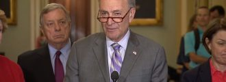 What does Chuck Schumer want kept from the American people and why?