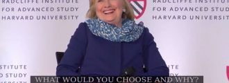Hillary Clinton: I want to be CEO of Facebook -- Video