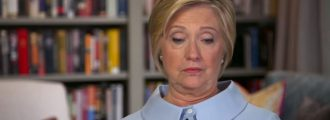 Hillary Clinton declares 'democracy' in crisis, blames 'right-wing media propaganda' -- Video